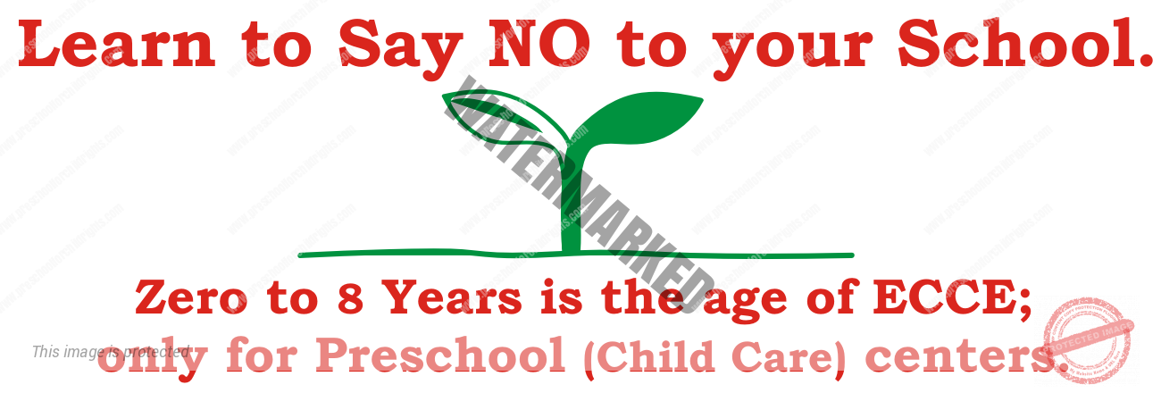 Learn to Say NO to your School