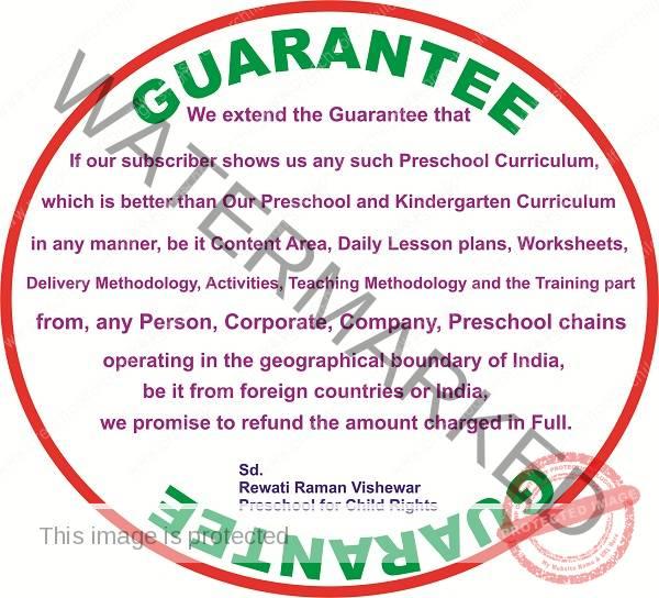 Preschool for Child Rights Guarantee